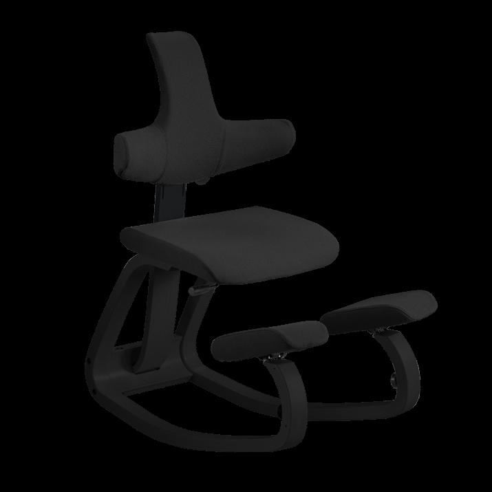 Adjustable Kneeling Seat With Backrest Varier Thatsit Balans