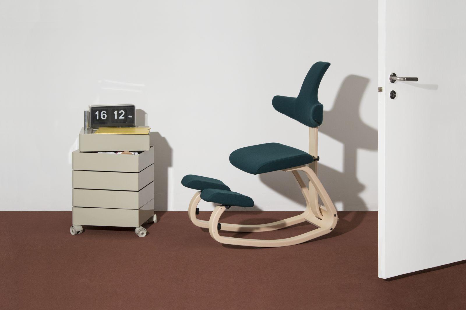 The Adjustable Kneeling Seat With Backrest Varier