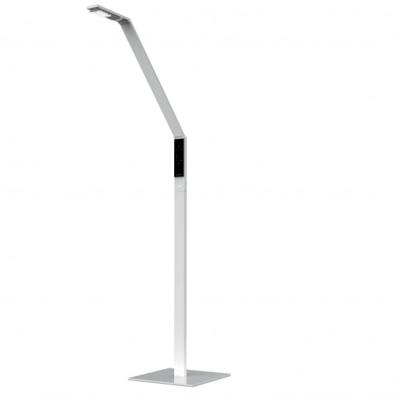 Luctra Linear Floor Lamp White