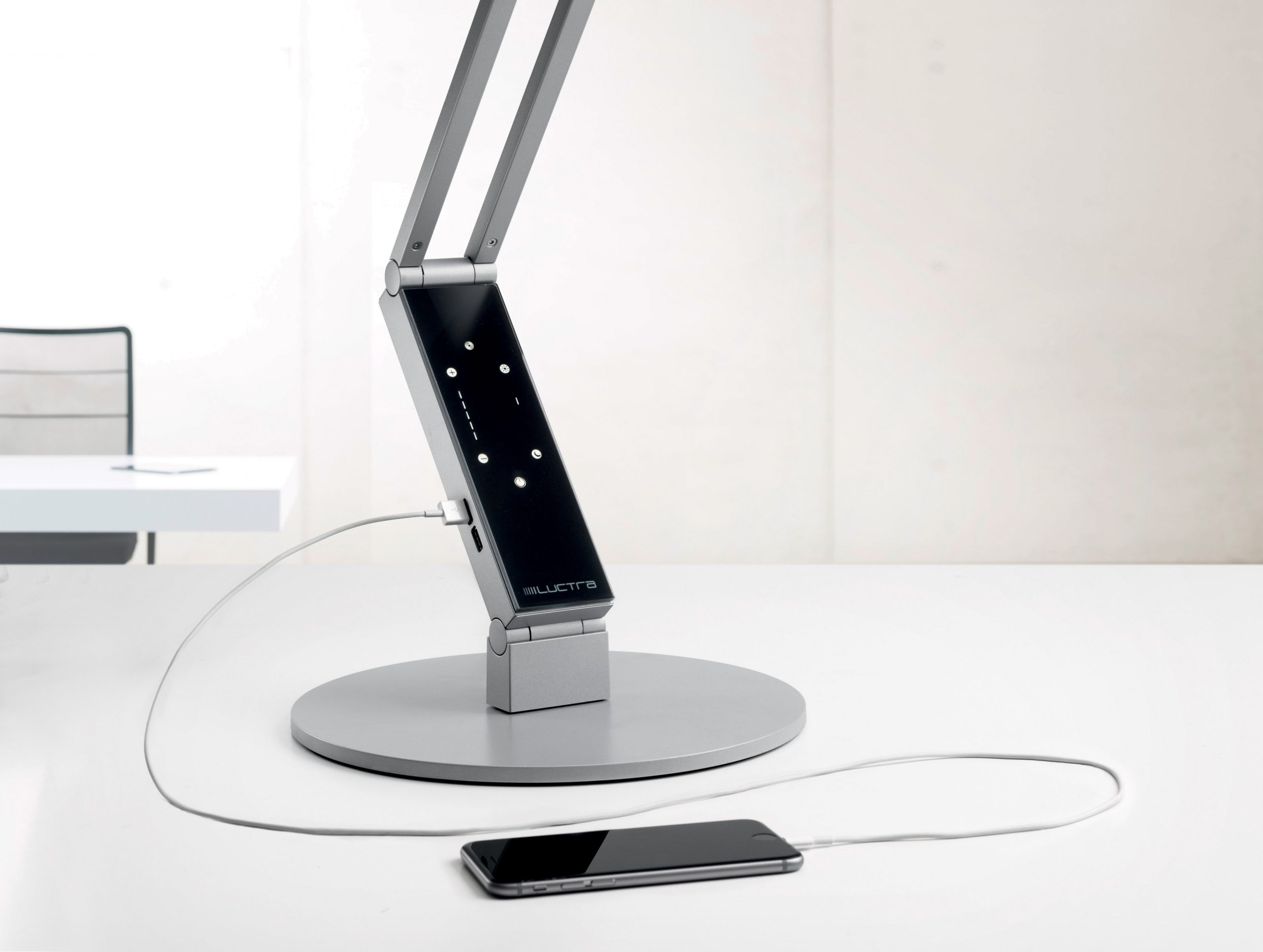 Luctra Radial Pro Aluminum LED Desk Lamp