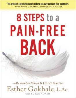 Esther Gokhale - 8 Steps to a Pain-Free Back